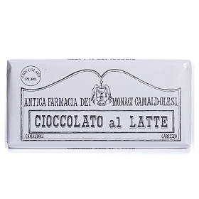 Chocolate con leche 50 gr Camaldoli s1
