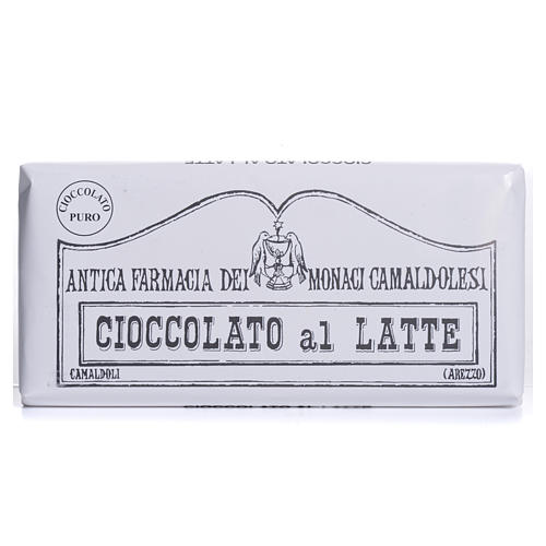 Milk chocolate 50gr Camaldoli 1