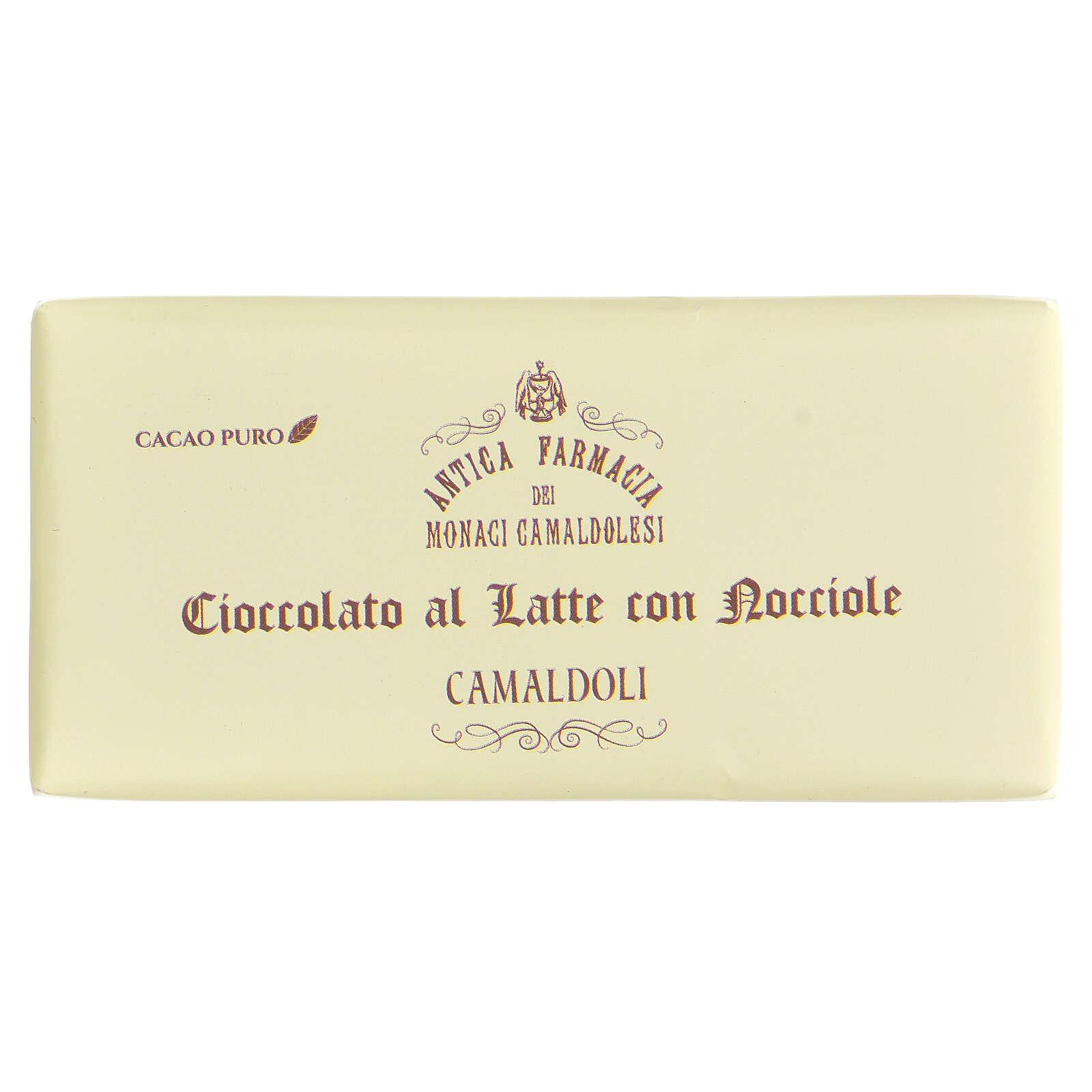 Chocolat au lait et éclats de noisettes 50g Camaldoli 3