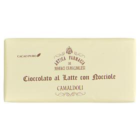 Chocolat au lait et éclats de noisettes 50g Camaldoli s1