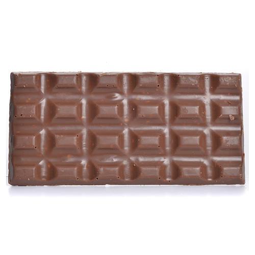 Cioccolato al latte con nocciole tritate 50 gr Camaldoli 2