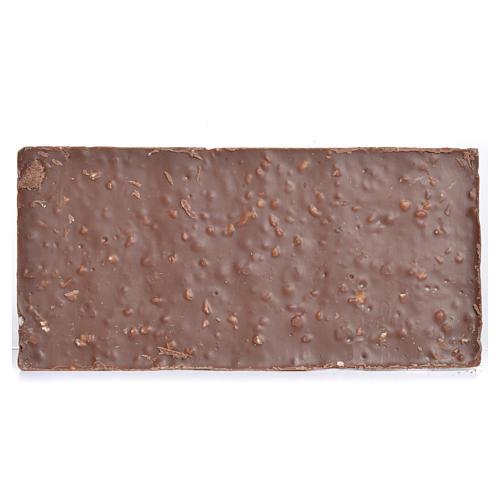 Cioccolato al latte con nocciole tritate 50 gr Camaldoli 3