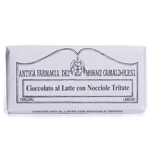 Milk chocolate with broken nuts 50gr Camaldoli 1