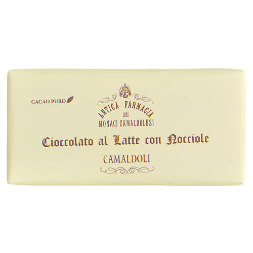 Milk chocolate with broken nuts 50gr Camaldoli 1