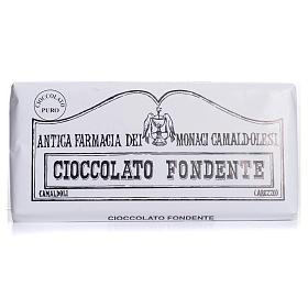 Chocolate trapense: Chocolate amargo 50 gr Camaldoli