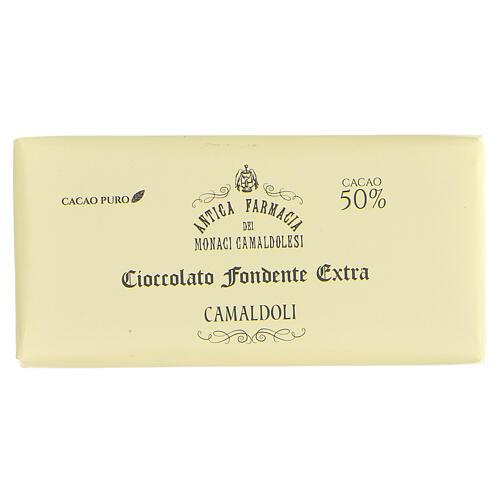 Chocolate amargo 50 gr Camaldoli 1