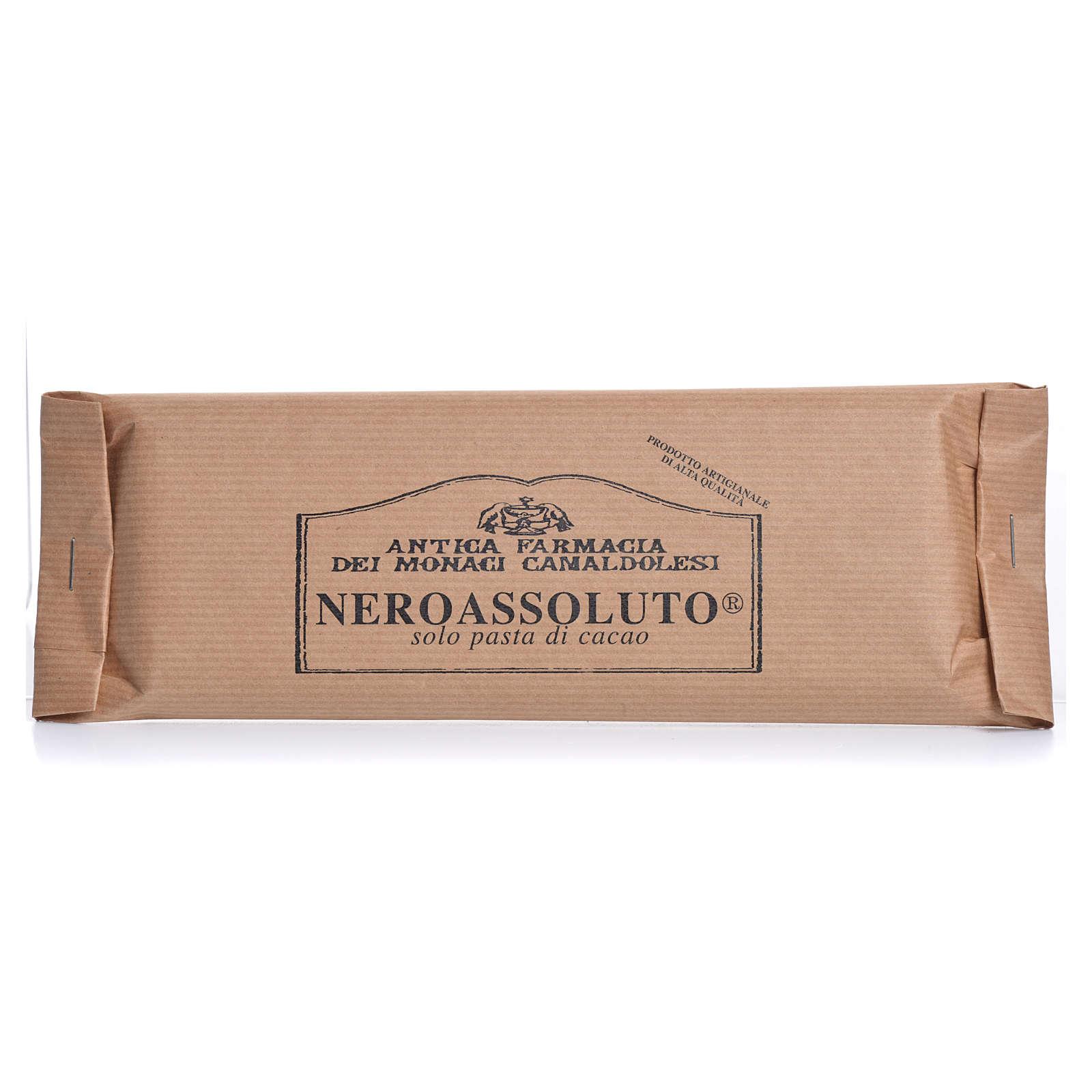 Cioccolato Nero Assoluto 100 gr Camaldoli 3