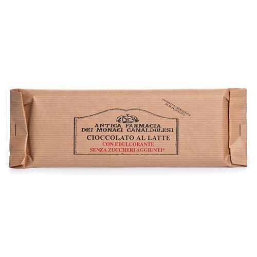 Chocolate con leche sin azúcares añadidos 100 gr Camaldoli 1