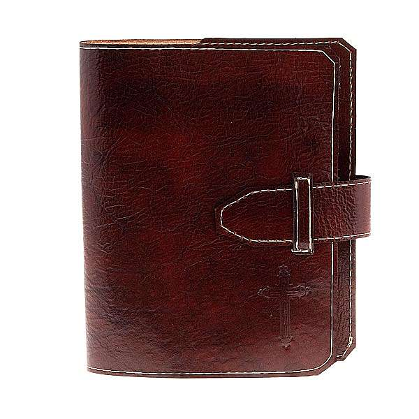 Etui Bible Jérusalem marron 2008 4