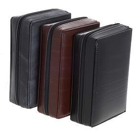 Kunstledereinband 1 Bände schwarz mit Reißverschluß s4