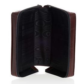 Kunstledereinband 1 Bände schwarz mit Reißverschluß s5