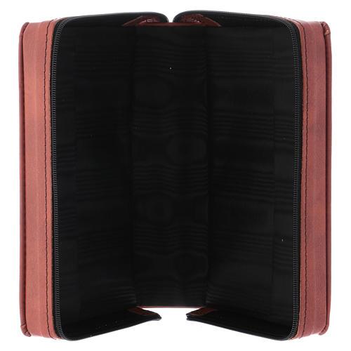 Kunstledereinband 1 Bände schwarz mit Reißverschluß 11