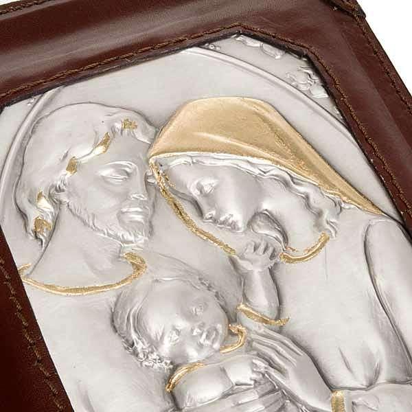 Couverture 4 vol. Sainte Famille en argent 4