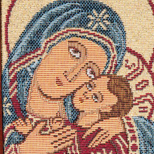 Custodia 4 vol. vera pelle Pantocratore Madonna bimbo 3