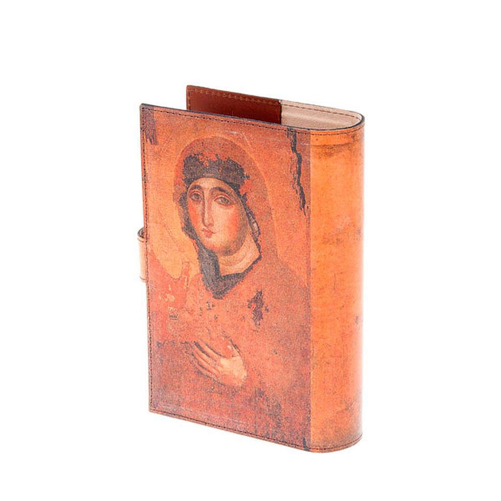 Copertina 4 vol. vera pelle Pantocratore e Madonna 4