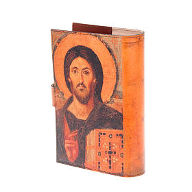 Copertina 4 vol. vera pelle icona Pantocratore s3