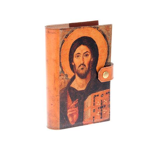 Copertina 4 vol. vera pelle icona Pantocratore 1