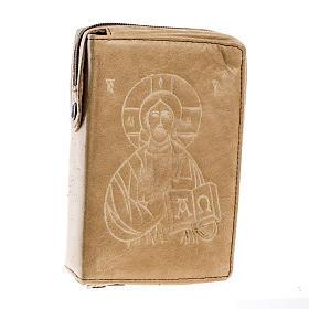 Custodia lit. 4 vol. Gesù Pantocratico marrone chiaro s1