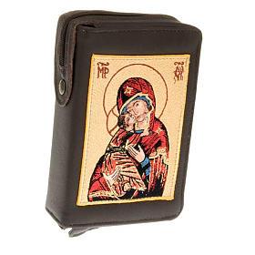 Etui litugie 4 volumes vierge de Vladimir s1