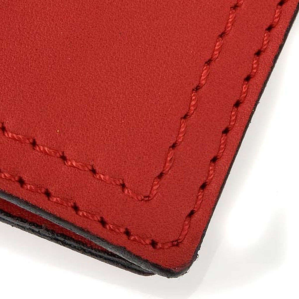 Cover for Benedictional in leather, Alpha Omega 4