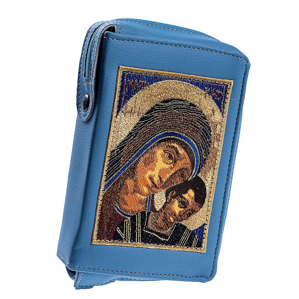 Copertina 4 vol. azzurra Madonna con bambino 4