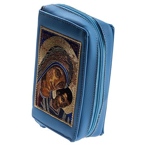 Copertina 4 vol. azzurra Madonna con bambino 2