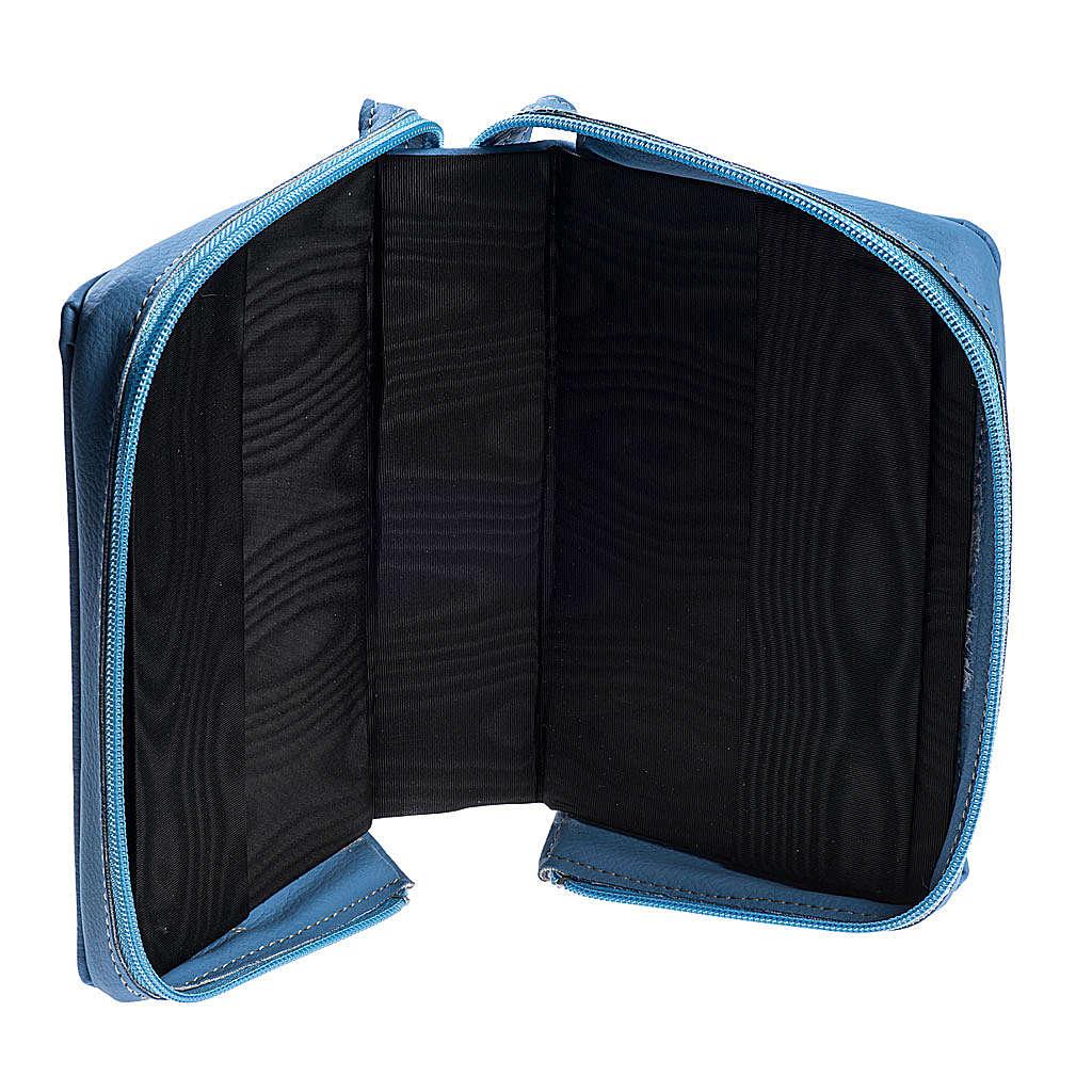 Copertina 4 vol. pelle azzurro 4