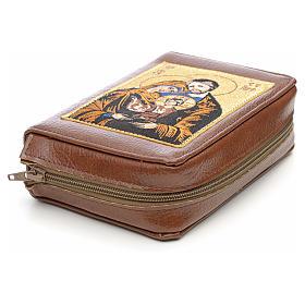 Couverture liturgie des heures 4 vol. marron Sainte Famille s3