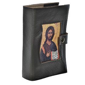 Custodia Liturgia 4 vol. Pantocratore marrone scuro