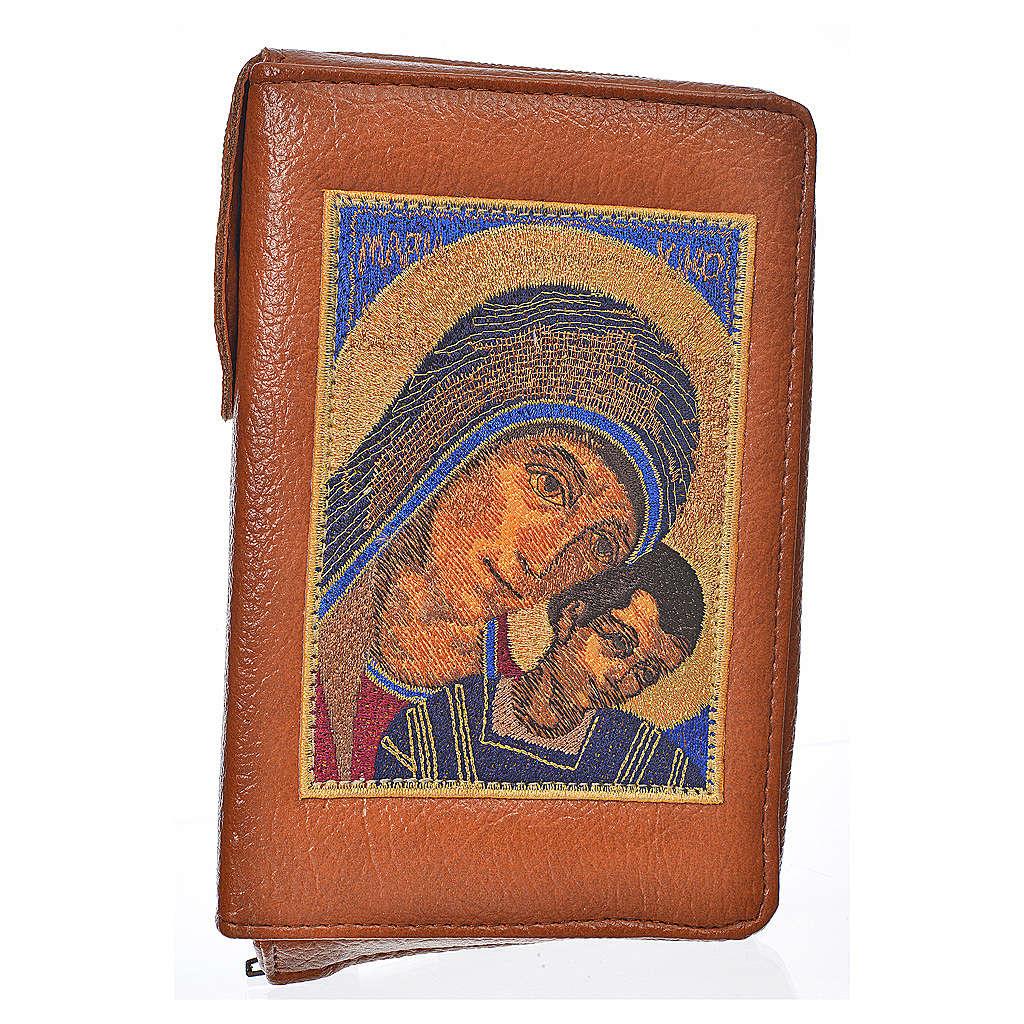 Funda lit. de las horas 4 vol. azul marrón Virgen de Kiko 4