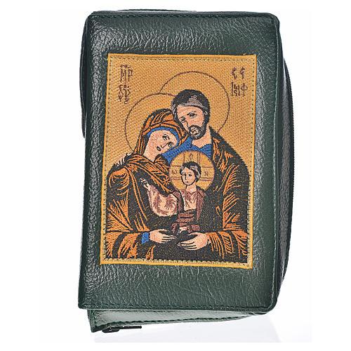 Funda lit. de las horas 4 vol. verde Sagrada Familia 1