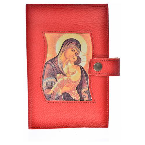 Funda lit. de las horas 4 vol. roja Virgen Kiko 2