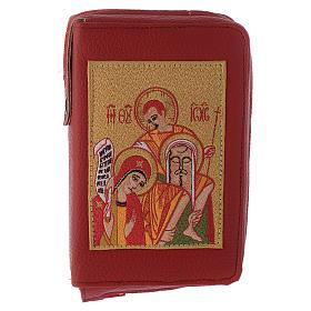 Custodia liturgia delle ore 4 vol. rosso Sacra Famiglia