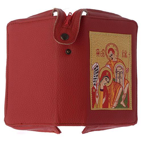 Custodia liturgia delle ore 4 vol. rosso Sacra Famiglia 3
