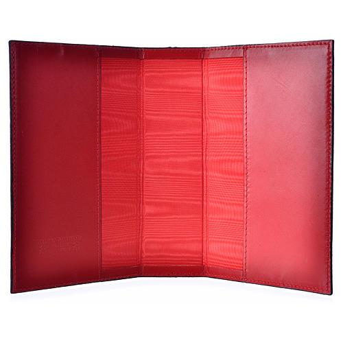 Custodia lit ore 4 vol pelle rosso Madonna bimbo 3