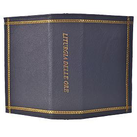 Custodia lit ore 4 vol pelle nera bordi oro scritta