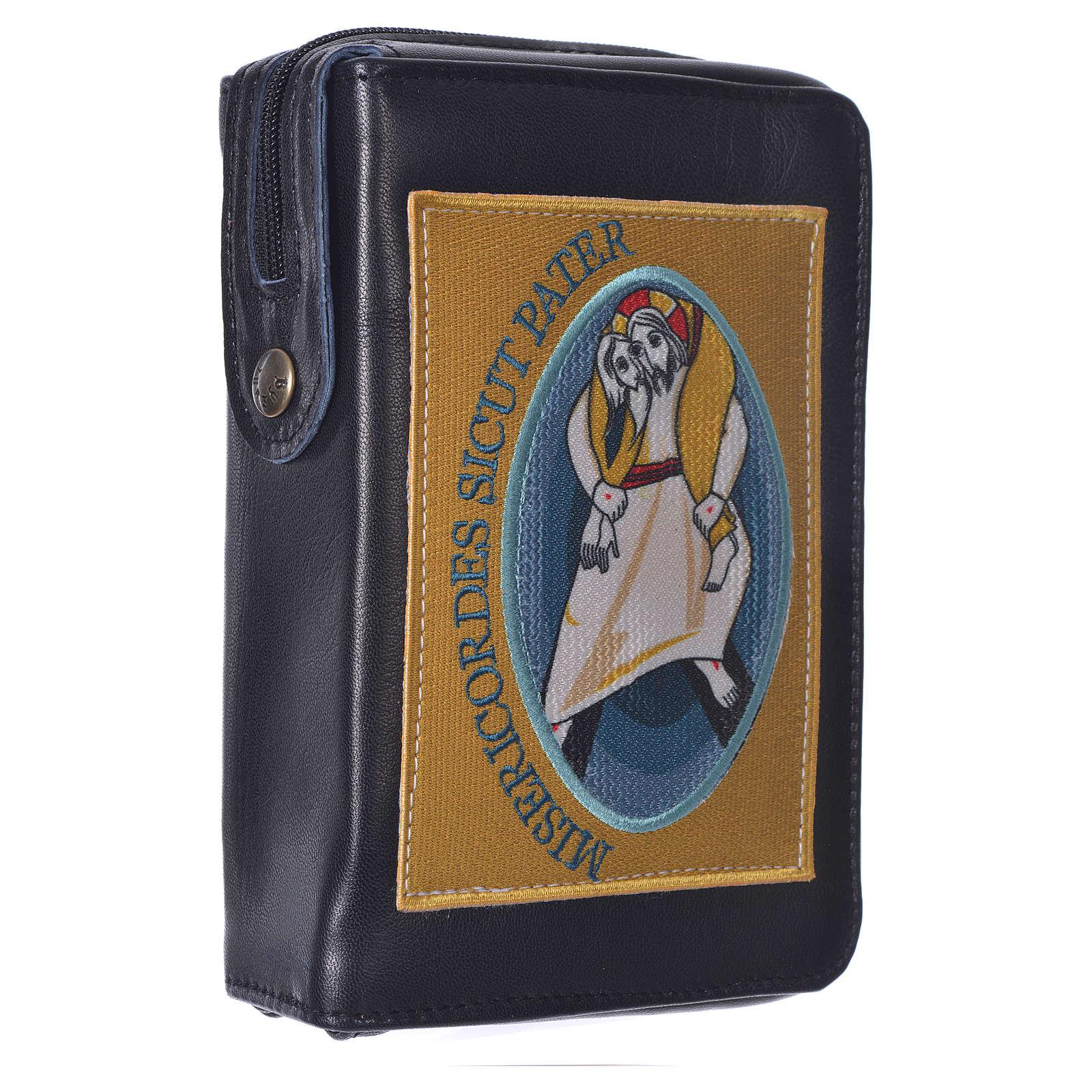 STOCK Couverture Liturgie heures 4 vol. Jubilé Miséricorde noir 4