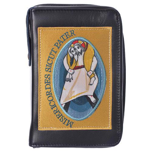 STOCK Couverture Liturgie heures 4 vol. Jubilé Miséricorde noir 1