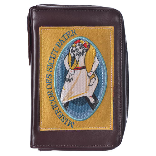 STOCK Custodia Liturgia ore 4 volumi Giubileo Misericordia marrone 1