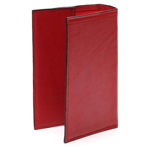 Couverture Lit. Heures 4 vol. Évangélistes cuir rouge 3