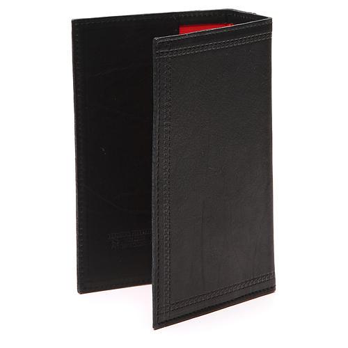 Custodia Lit. Ore 4 vol. scritta impressa pelle nera 3