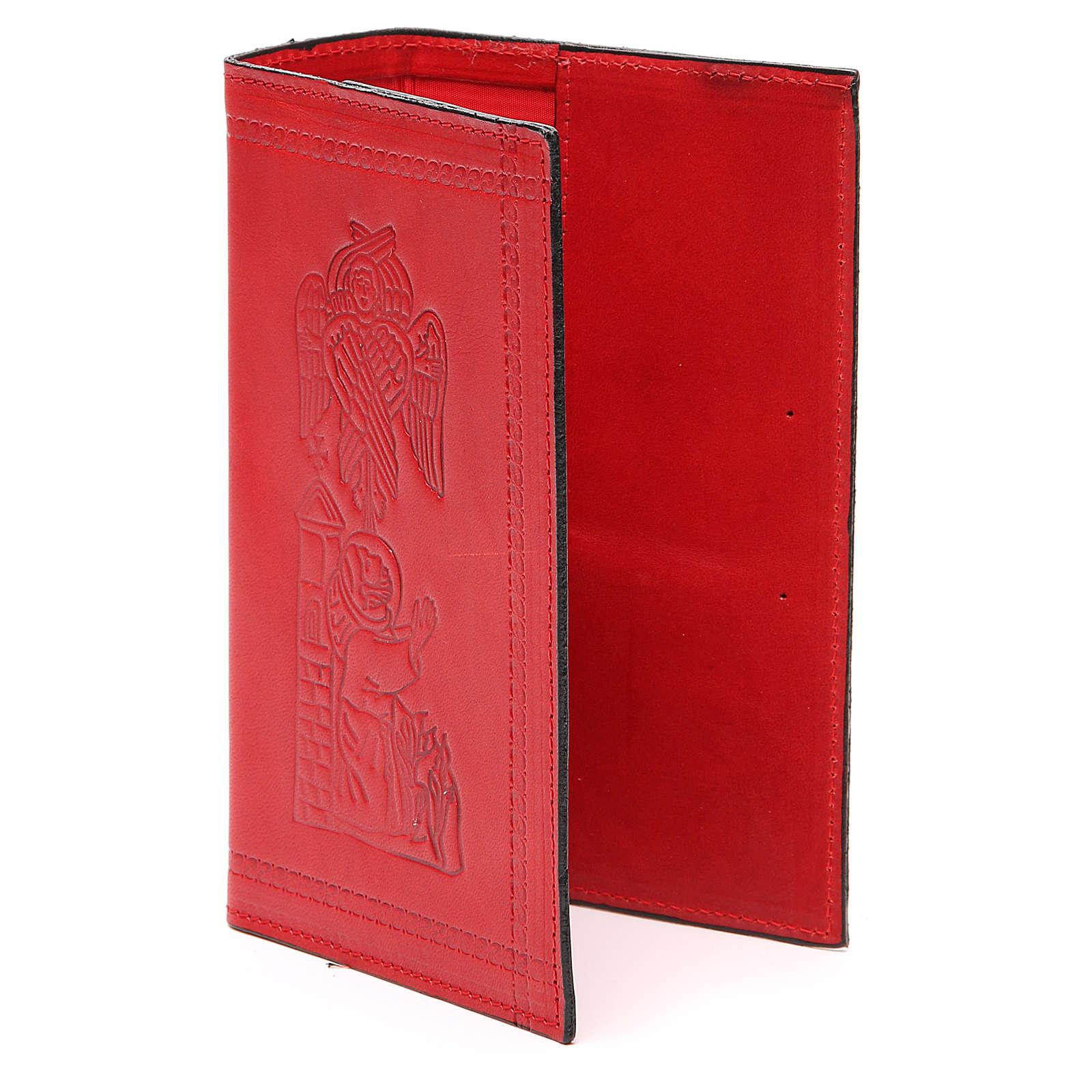 Copertina Lit. vol. unico pelle rossa S. Francesco impresso 4