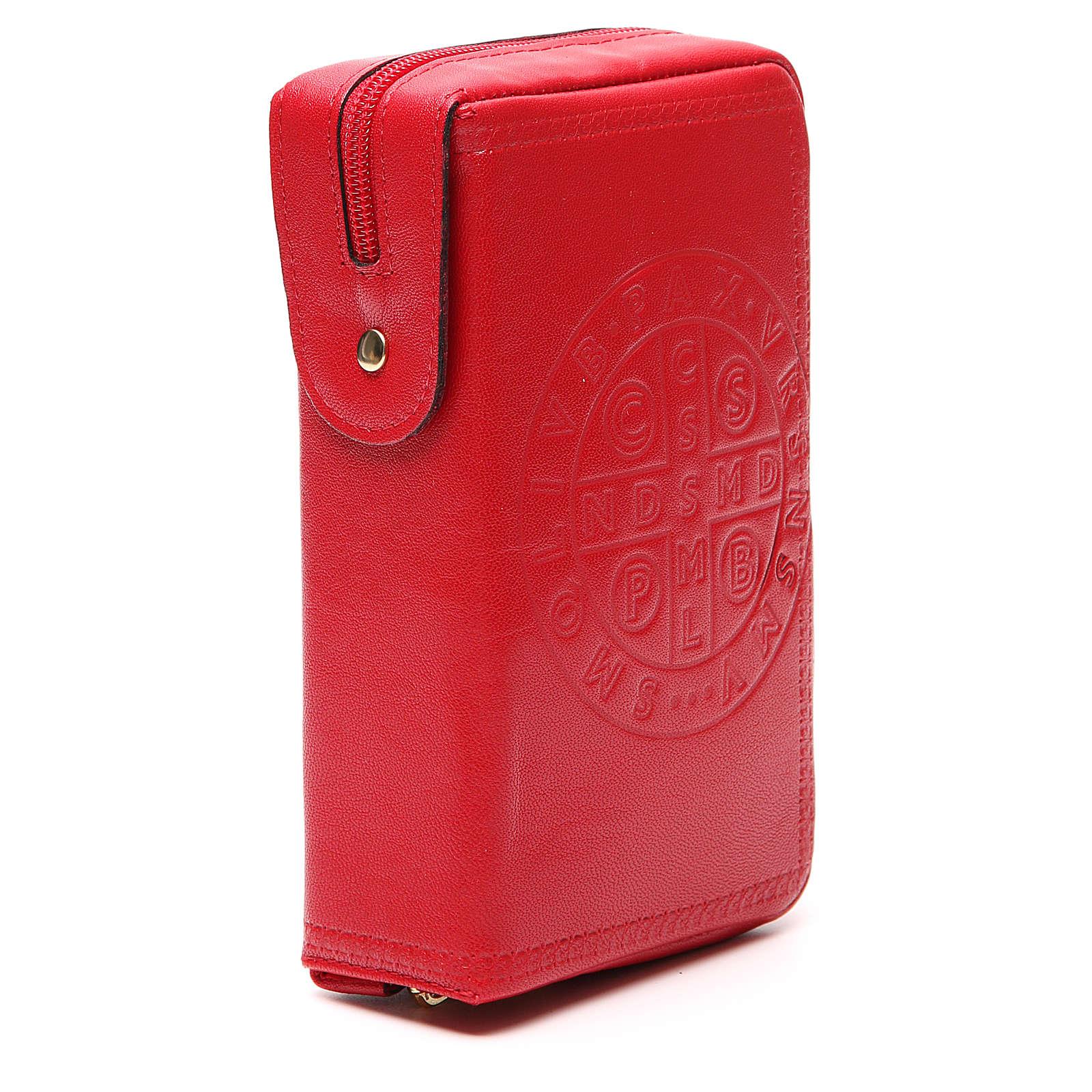 Custodia Lit. Vol. unico rosso S. Benedetto 4