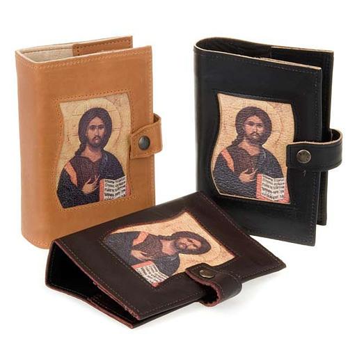 Copertina vol. unico pelle Cristo Pantocratore 1