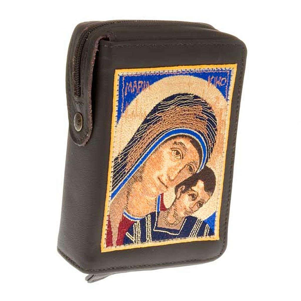 Etui liturgie volume unique vierge avec enfant au premier plan 4