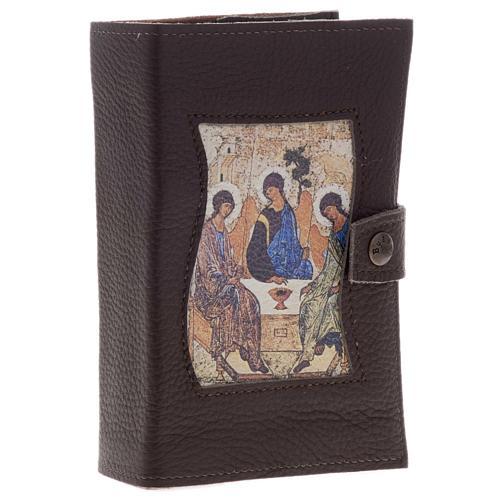 Copertine liturgia vol. unico pelle SS.Trinità 1