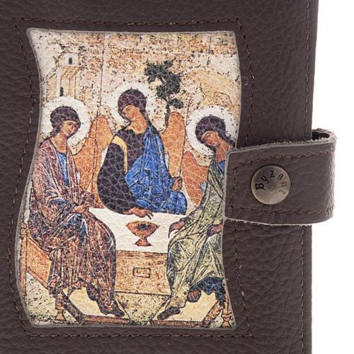Copertine liturgia vol. unico pelle SS.Trinità 3