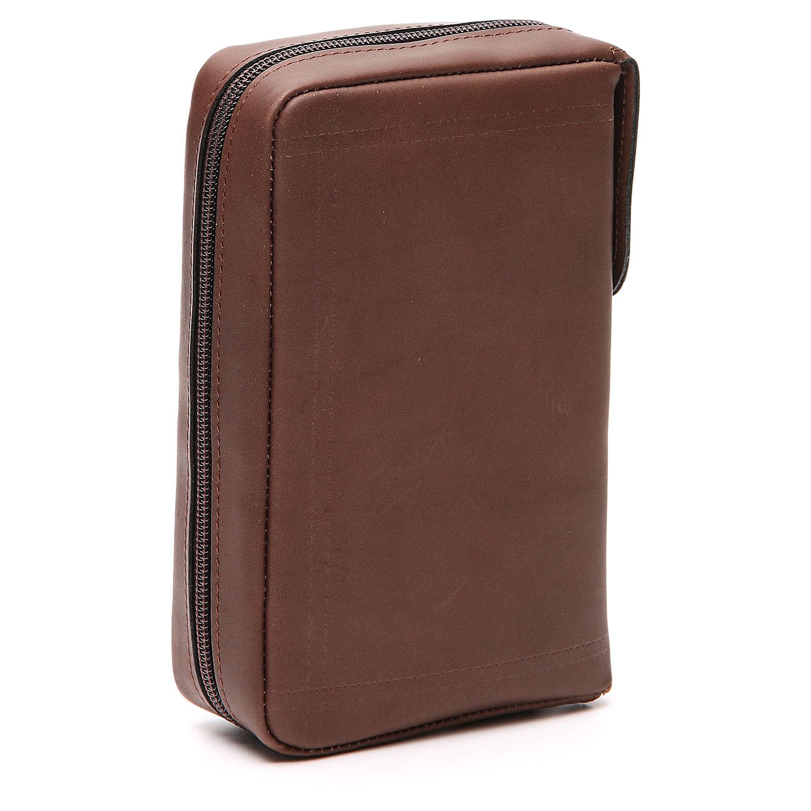 Couverture Lit. Vol. unique cuir brun Ancre Salut fermeture éclair 4