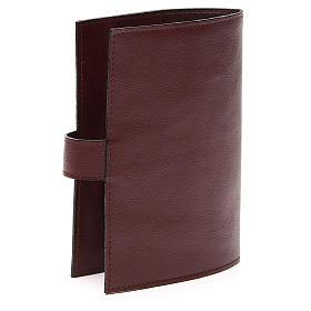 Couv. Lit. 4 vol. cuir brun foncé Christ Miséricordieux s3