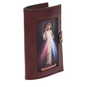 Couv. Lit. 4 vol. cuir brun foncé Christ Miséricordieux s4